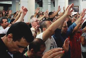 Algerian believers praising God