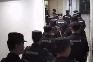 Police Raid - Photo: VOM Korea www.vomkorea.com