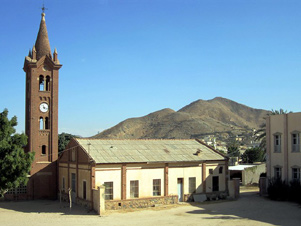 A church in Eritrea