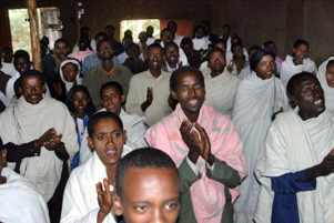 Worship in Ethiopia