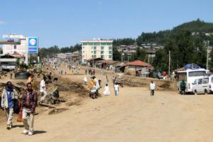 Debarq, Ethiopia - Photo: Wikipedia / Bernard Gagnon