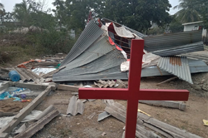 Church building in Narnepadu - Photo: Morning Star News