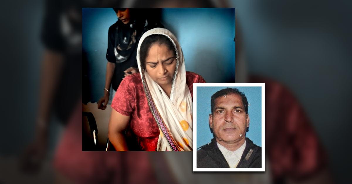 Pastor Vinod (inset) and his wife, Sunita. - Photos: Morning Star News www.morningstarnews.org
