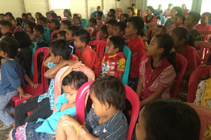 A Sunday School in Indonesia