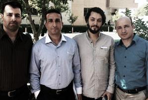 Saheb Fadaie, Youcef Nadarkhani, Yasser Mossayebzadeh and Mohammad-Reza Omidi - World Watch Monitor