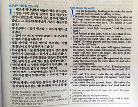 Korean English parallel Bible