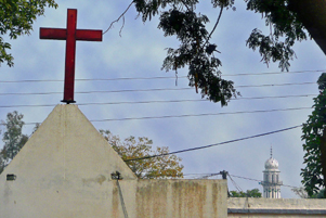 Church steeple in Pakistan - Photo: Mission Network News